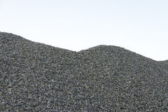 Pile of gravel Stock Image