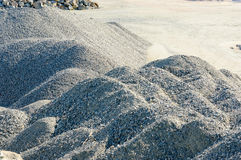 Pile of gravel Stock Photography