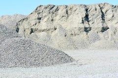 Pile of gravel Royalty Free Stock Photos