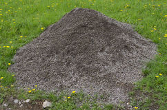 Pile of gravel Royalty Free Stock Photography