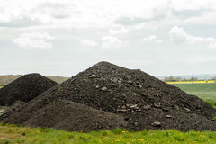 Pile of gravel Royalty Free Stock Image