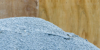 Pile of gravel Stock Photos
