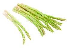 Pile of green asparagus Stock Photos