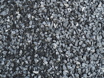 Pile of grey blue stones Royalty Free Stock Image