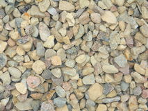 Pile of grey construction gravel Royalty Free Stock Photography