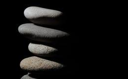 Pile of grey stones Stock Image
