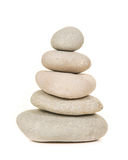 Pile of grey stones Stock Images