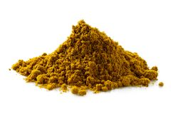 A pile of ground masala spice mix. royalty free stock photo