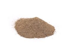 Pile of ground pepper. Stock Photography