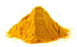 Pile of ground turmeric Royalty Free Stock Images