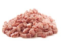 Pile of ham Stock Photo