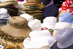 Pile of hats Stock Images