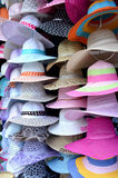 Pile hats Stock Images