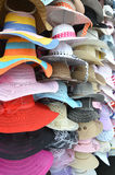 Pile hats Stock Image