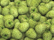 Pile of Healthy Custard Apple with Depth of Field Stock Image