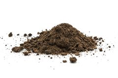 Pile heap of soil humus Royalty Free Stock Photography