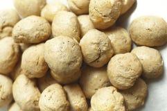 Pile of Homemade Bread Balls ( Buns ) Stock Photo