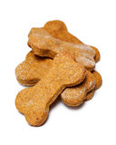 Pile of homemade dog cookies Royalty Free Stock Images