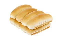 Pile of hotdog bun Royalty Free Stock Image