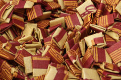 Pile of  Incense Bags close up Royalty Free Stock Image