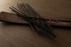 Bunch pf incense stick royalty free stock photo