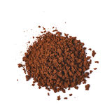 Pile of instant coffee grains Stock Images