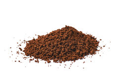 Pile of instant coffee grains Royalty Free Stock Photography