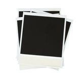 Pile of instant photo Royalty Free Stock Image