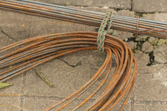 Pile of iron wire Royalty Free Stock Photo