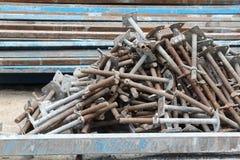 Pile of jack base Royalty Free Stock Photo