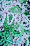 Pile of Jade Bracelets Royalty Free Stock Photos