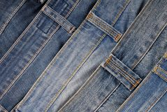 It is a pile of jeans. It is a pile of jeans, blue denim backgrounds Royalty Free Stock Image