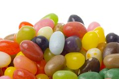 Pile of jelly beans Stock Photography