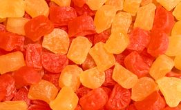 A pile of jelly colorful sweetest candy. A pile of jelly colorful sweetest candy - children food photography royalty free stock images