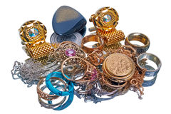 Pile of jewelry Stock Photography
