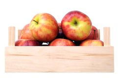 A pile of jonagold apples Stock Photo