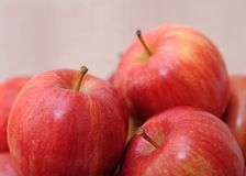 Jonagold apples. A pile of Jonagold apples Royalty Free Stock Images