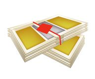 Pile of Joss Paper for Chinese New Year Stock Photos
