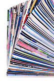 Pile of journals Stock Images
