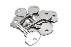 Pile of keys Stock Image