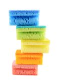 Pile of kitchen sponges Stock Photography
