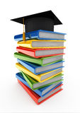 Pile of knowledge Stock Photos