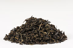 A pile of lapsang souchong tea. Stock Photos