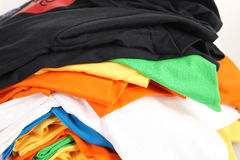 Pile of laundry Royalty Free Stock Photos