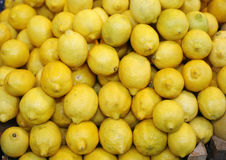 Pile of lemon Royalty Free Stock Photos