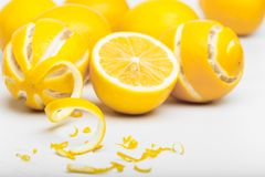 Pile of lemons Stock Photo