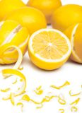 Pile of lemons Stock Image