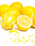 Pile of lemons Stock Photography