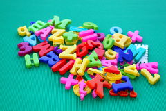 Pile of letters Stock Images