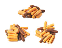 Pile of licorice stick candies Royalty Free Stock Photos